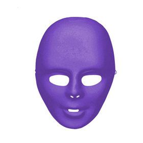 Purple Full Face Mask