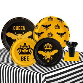 Queen Bee 16 Guest Party Pack