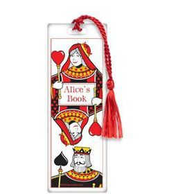 Queen's Card Party Personalized Bookmark (each)