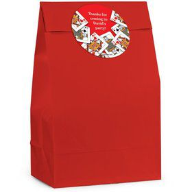 Queens Card Personalized Favor Bag (Set Of 12)