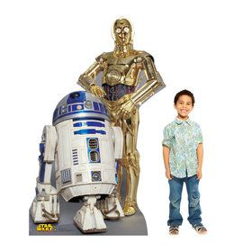 R2-D2 and C-3PO Cardboard Standup (Each)