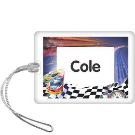 Race Cars Personalized Bag Tag (each)