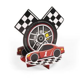 Racecar Birthday Centerpiece (1)