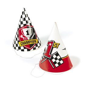 Racecar Party Hats (12)