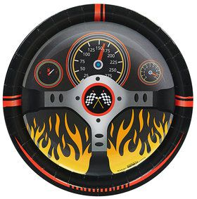 Racecar Racing Party Dinner Plates (8)