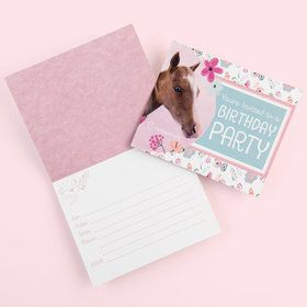 Rachael Hale Beautiful Horse Invitations (8)