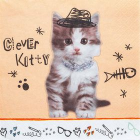Rachael Hale Cats Rule Lunch Napkins (20)