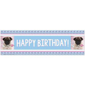 Pug Party Decorations Girls Boys Birthday Party Supplies