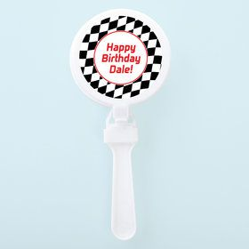 Racing Flag Personalized Clappers (Set of 12)