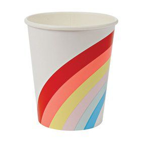 Rainbow 9oz. Paper Cups (12)