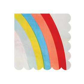 Rainbow Beverage Napkins (20)