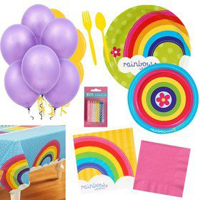 Rainbow Party Essentials Kit (Serves 16)