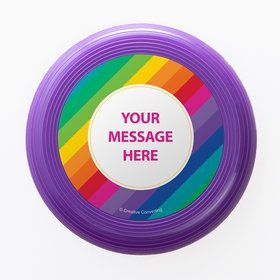 Rainbow Personalized Mini Discs (Set of 12)
