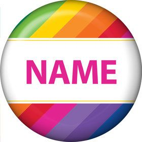 Rainbow Personalized Mini Magnet (Each)