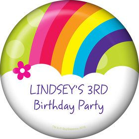 Rainbow Wishes Personalized Magnet (Each)