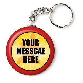 """Ranger Heroes Personalized 2.25"""" Key Chain (Each)"""