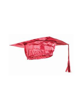 Red Graduation Child Cap - One-Size