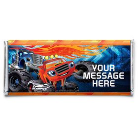 Red Monster Truck Personalized Candy Bar Wrapper (Each)