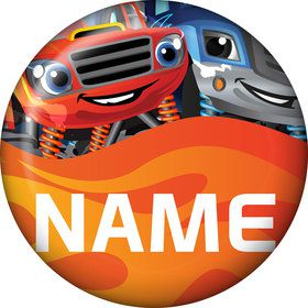 Red Monster Truck Personalized Mini Magnet (Each)