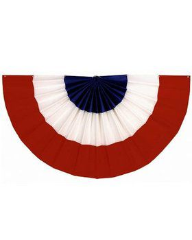 Red, White and Blue Decorative Bunting