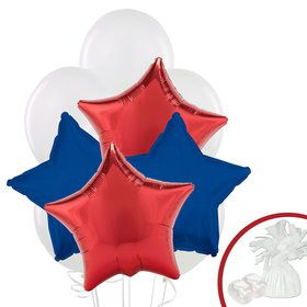 Red, White, & Blue Balloon Bouquet