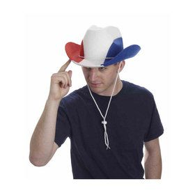 Red/White/Blue Cowboy Hat