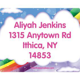 Regal Pony Personalized Address Labels (Sheet of 15)