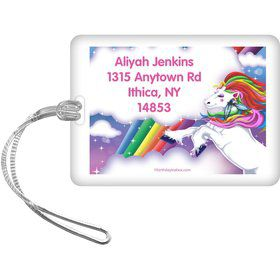 Regal Pony Personalized Bag Tag (Each)