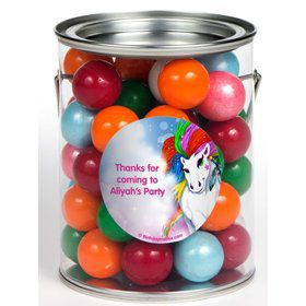 Regal Pony Personalized Paint Can Favor Container (6 Pack)