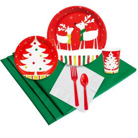 Reindeer Christmas Party Party Pack