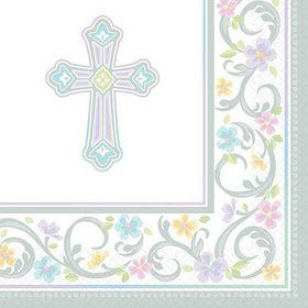 Religious Party Beverage Napkins (36 Pack)