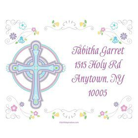 Religious Party Personalized Address Labels (Sheet of 15)