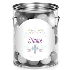 Religious Party Personalized Mini Paint Cans (12 Count)