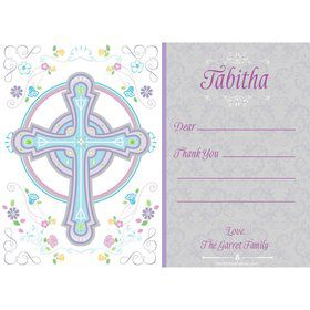 Religious Party Personalized Thank You (Each)
