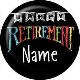 Retirement Personalized Mini Magnet (Each)