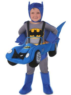 Ride a Batmobile Child Costume One-Size