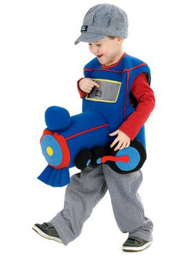 Ride a Plush Train Toddler Costume