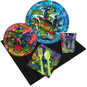 Rise of the Teenage Mutant Ninja Turtles Party Pack (8 Count)