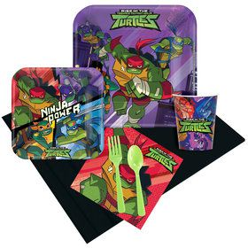 Rise of the Teenage Mutant Ninja Turtles Party Pack for 8