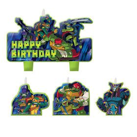 Rise of the TMNT Candle Set (4)