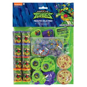 Rise of the TMNT Favor Pack (48 Pieces)