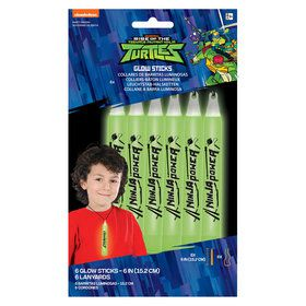 Rise of the TMNT Glowstick Lanyards (6)