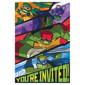 Rise of the TMNT Invitations (8)