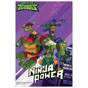 Rise of the TMNT Plastic Loot Bags (8)
