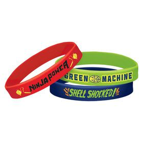 Rise of the TMNT Rubber Bracelet Favors (6)