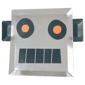 Robot Shaped Plates (8)