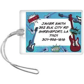 Rock Star Personalized Luggage Tag (each)