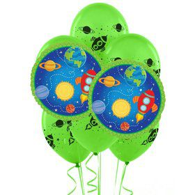 Rocket To Space 8 pc Balloon Kit
