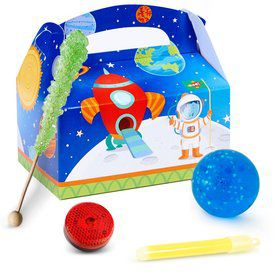 Rocket to Space Filled Favor Box (4)