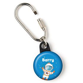 "Rocket to Space Personalized 1"" Carabiner (Each)"